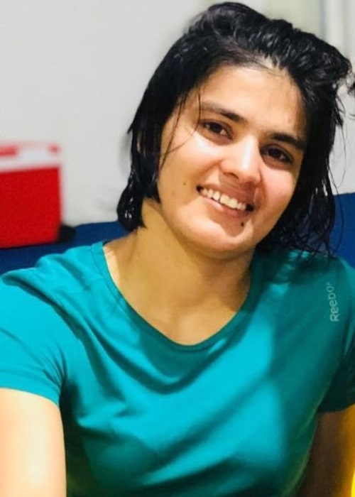 Priyanka Phogat as seen in a picture that was taken in December 2017