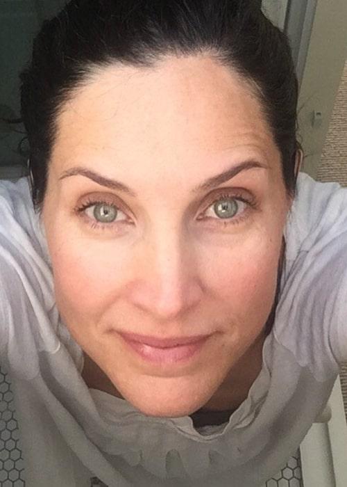 Rachel Shelley as seen in a selfie that was taken in August 2017