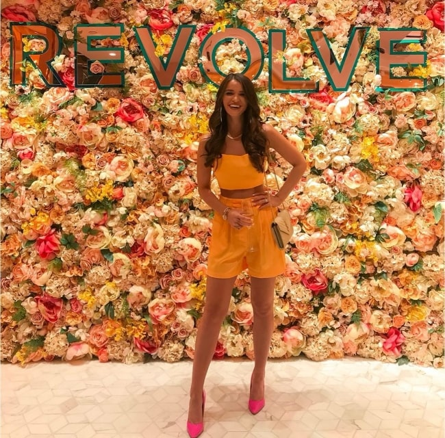 Raven Gates as seen while posing for the camera at Palms Casino Resort in June 2019