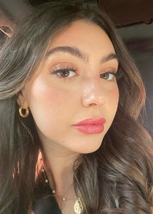 Saby Hesri as seen in a selfie that was taken in Moab, Utah in August 2021