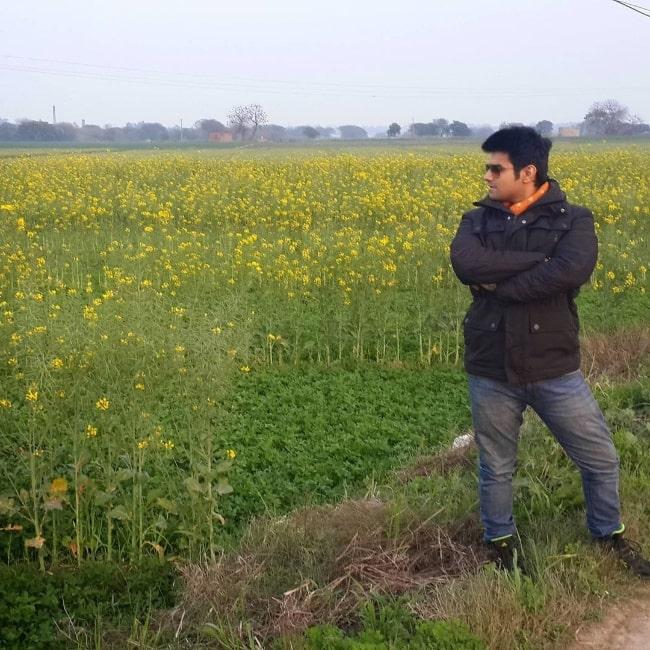 Sahil Vaid in Punjab in January 2021