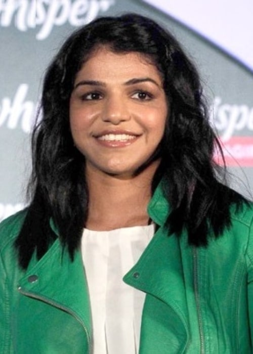Sakshi Malik as seen in a picture that was taken at a promotional event on December 6, 2016