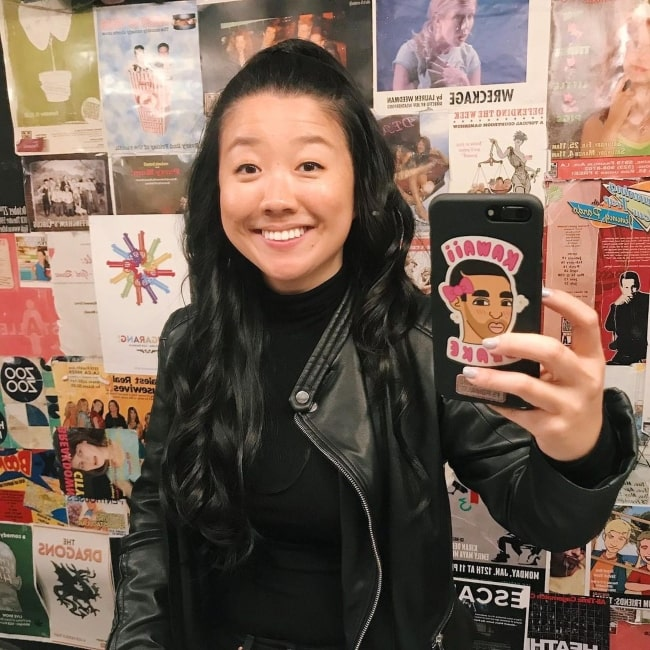 Sherry Cola sharing her selfie in October 2019