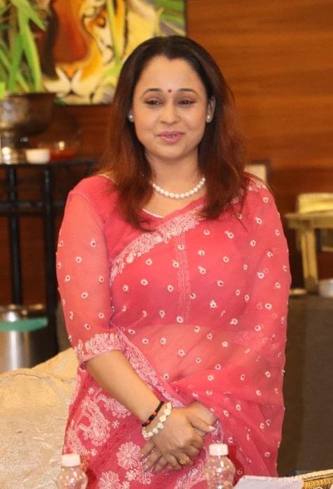 Sonalika Joshi as seen in an Instagram post in May 2021