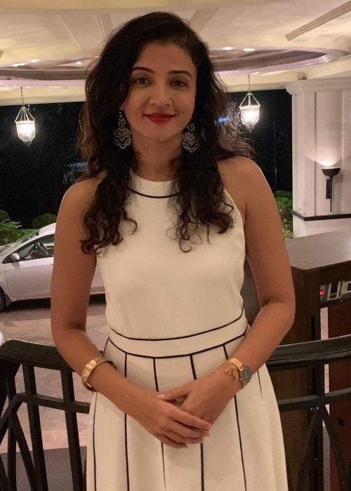 Suhasi Dhami as seen in October 2019