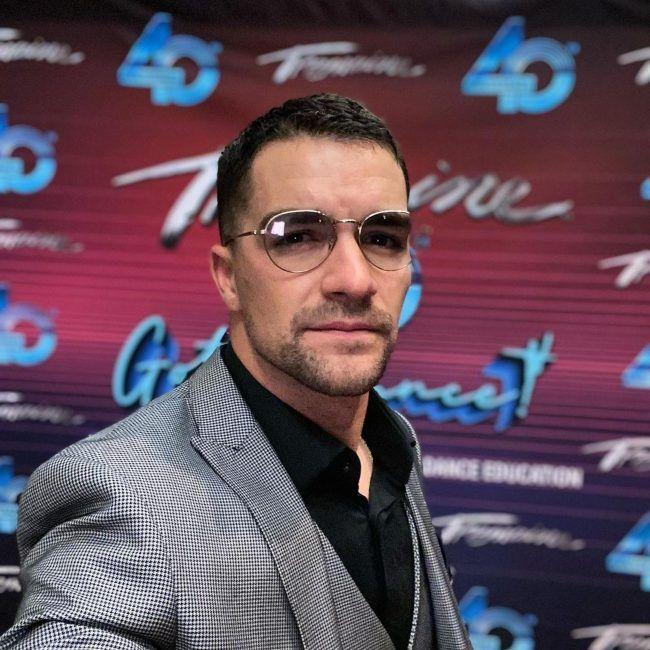 Tony Bellissimo as seen taking a selfie in July 2021