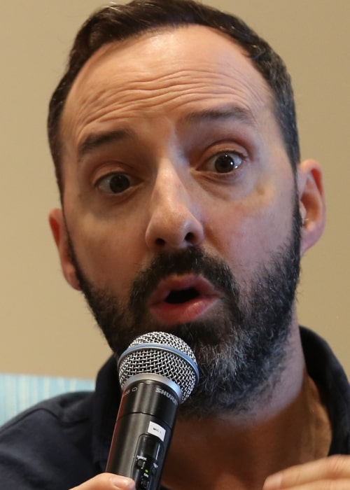 Tony Hale as seen in a picture that was taken during while at Pepperdine University's Theatre Program in October 2019