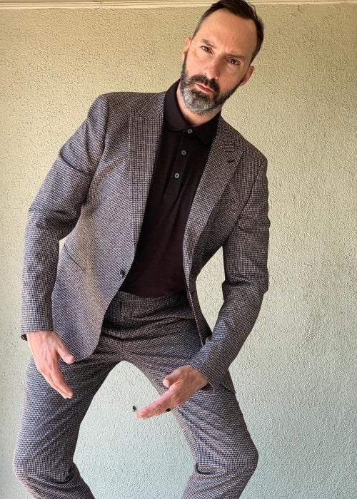 Tony Hale as seen in a picture that was taken in June 2021