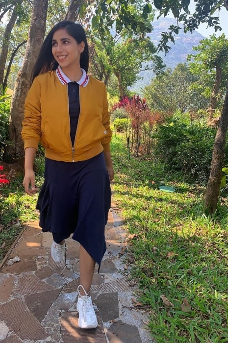 Veebha Anand as seen in December 2020