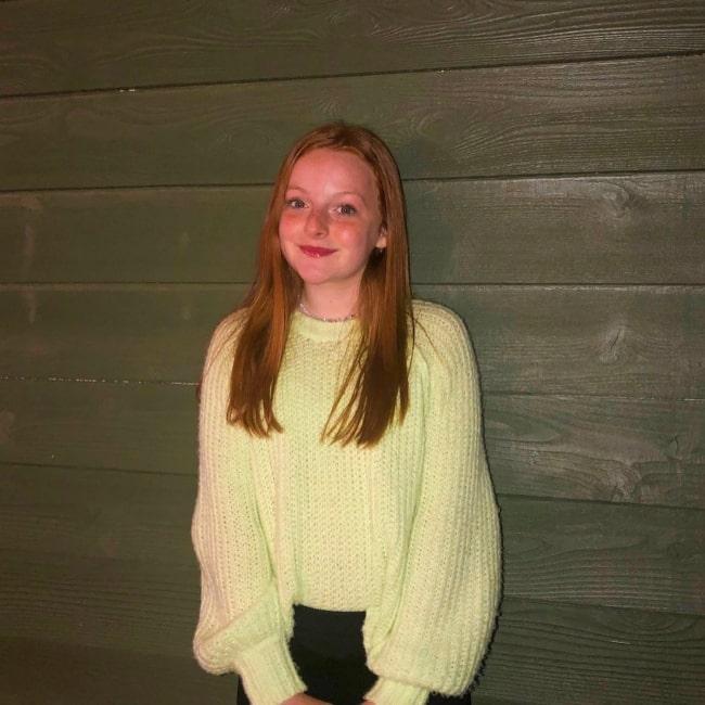 Vivian Watson as seen in a picture that was taken in December 2020