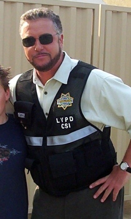 William Petersen as seen on the set of 'CSI' in March 2004