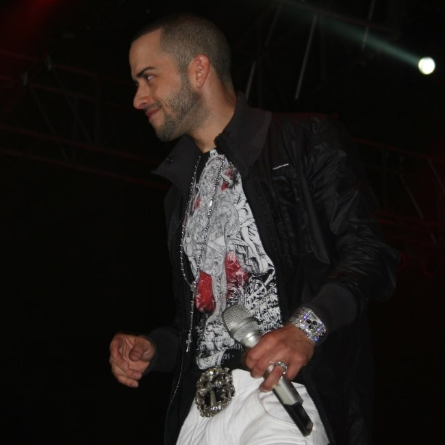 Yandel as seen during an event