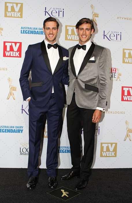 Zac (right) and Jordan Stenmark as seen in 2016