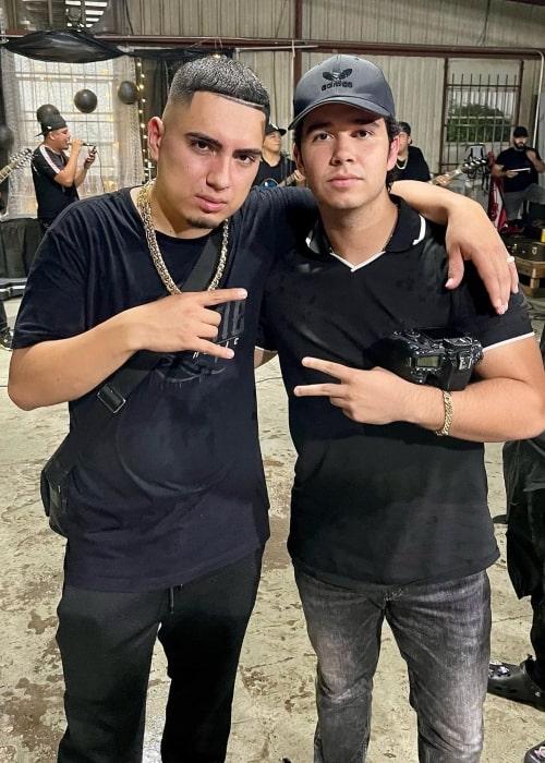 Abelardo Campuzano as seen in a picture that was taken with music artist Esteban Gabriel in June 2021
