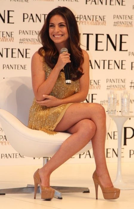 Ana Brenda Contreras as seen at a Pantene event in São Paulo, Brazil in January 2015