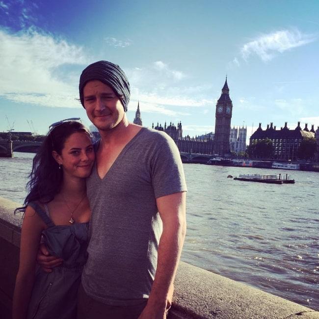 Benjamin Walker and Kaya Scodelario in August 2015