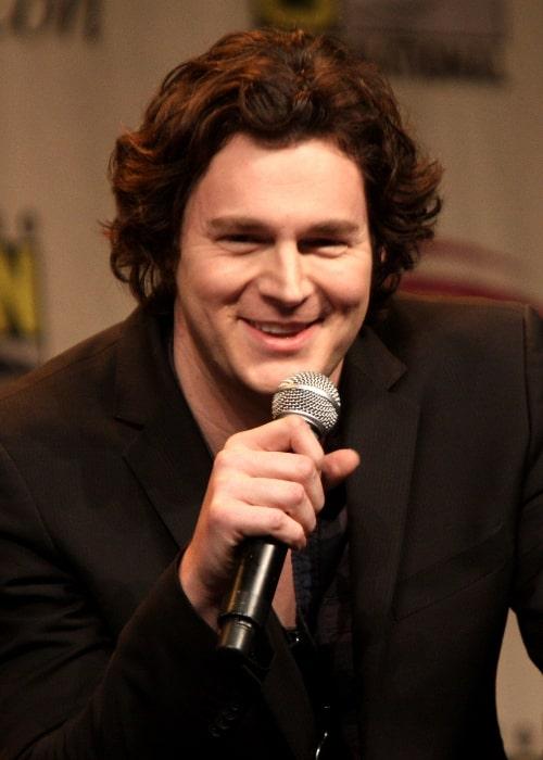 Benjamin Walker pictured while speaking at Wondercon 2012 in Anaheim, California on March 17, 2012