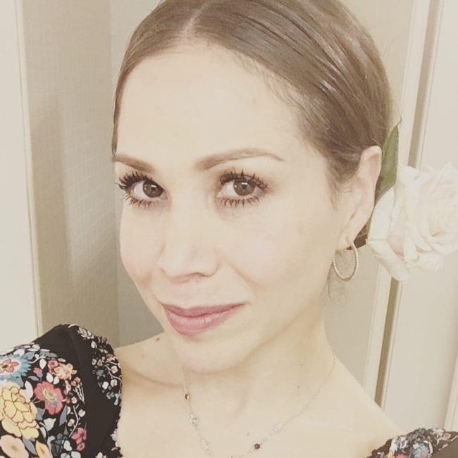 Bianca Marroquin as seen in a selfie that was taken in April 2021