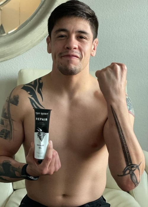 Brandon Moreno as seen in an Instagram Post in August 2021