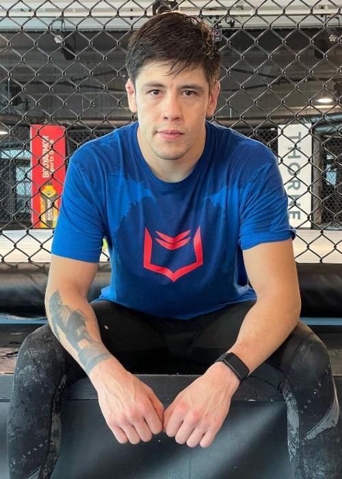 Brandon Moreno as seen in an Instagram Post in July 2021