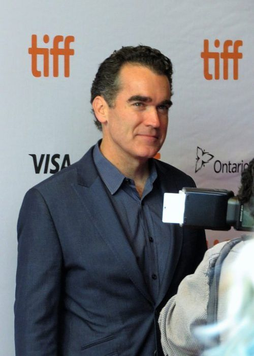 Brian d'Arcy James seen at the 2017 Toronto Film Festival for Molly's Game