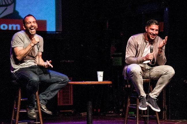 Bryan Callen (Left) and Brendan Schaub