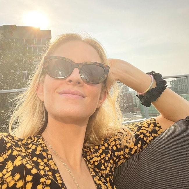 Cassie Kramer as seen in Chicago, Illinois in August 2021