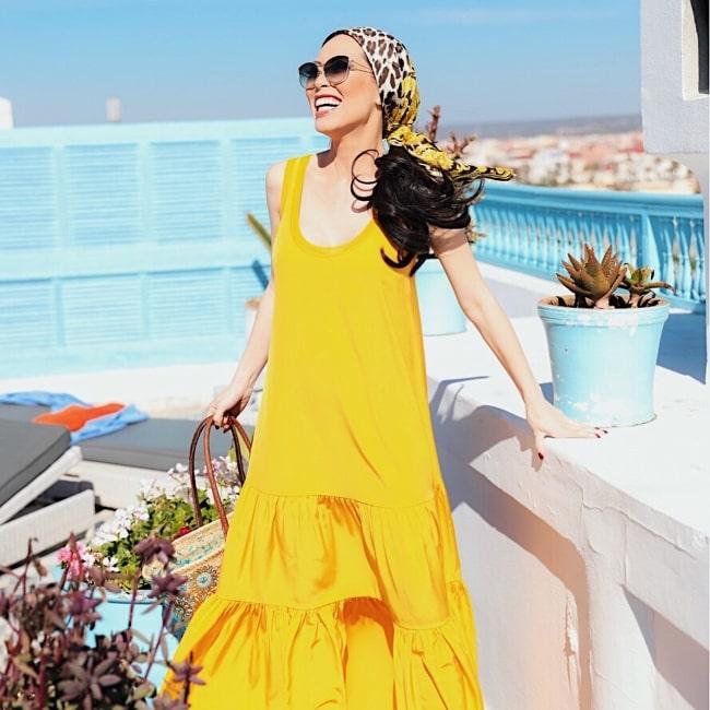 Christine Chiu in Essaouira, Morocco in March 2018