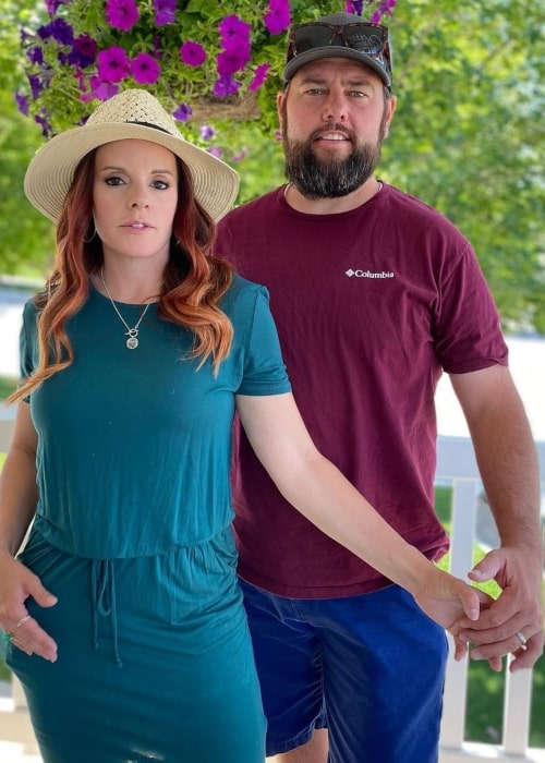 Colette Kati Butler as seen in a picture with her beau Shay Carl on the day of her birthday in June 2021