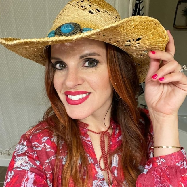 Colette Kati Butler as seen in a selfie that was taken in August 2021