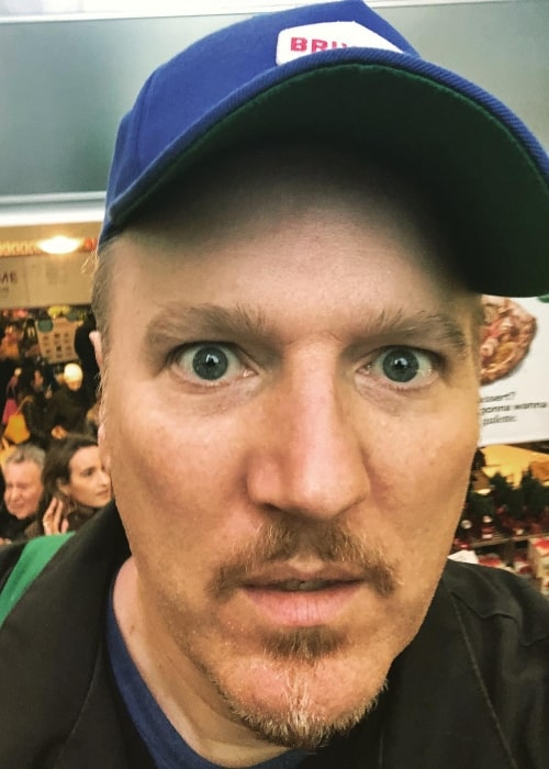 Dan Finnerty as seen in a selfie that was taken in November 2018