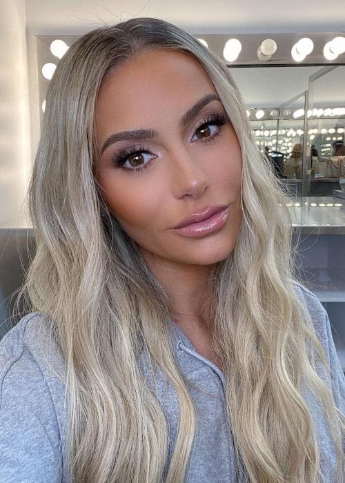Dorit Kemsley as seen in a selfie that was taken in March 2021