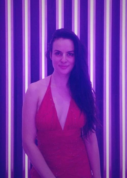 Elena Kazan as seen in a picture that was taken in April 2018