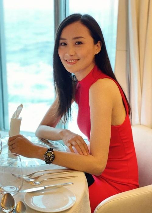 Fala Chen as seen in an Instagram Post in December 2019