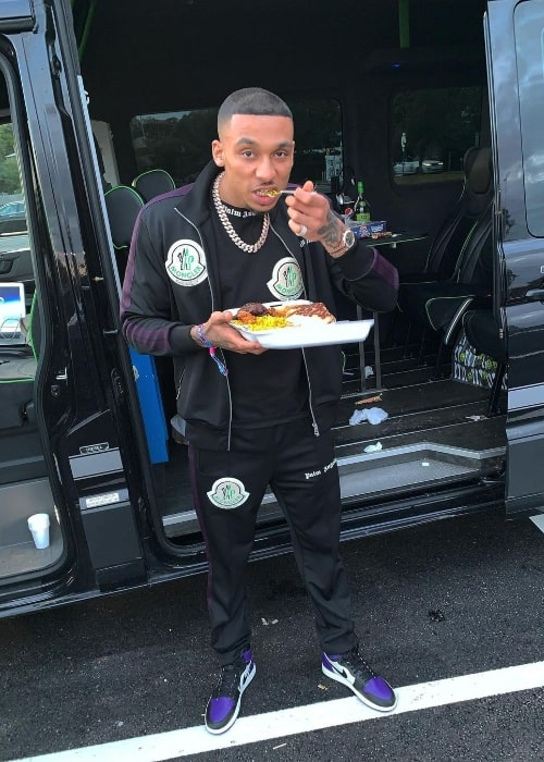 Fredo as seen in an Instagram post in June 2019