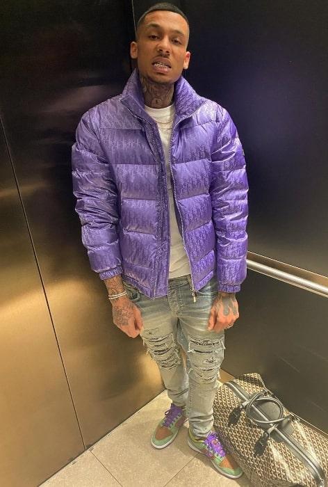 Fredo in January 2021