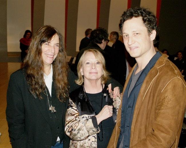 From Left to Right - Patti Smith, National Book Critics Circle President Jane Ciabattari, and NBCC board member John Reed at the 2010 National Book Critics Circle awards