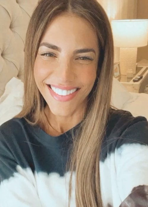 Gaby Espino as seen in a selfie that was taken in April 2021