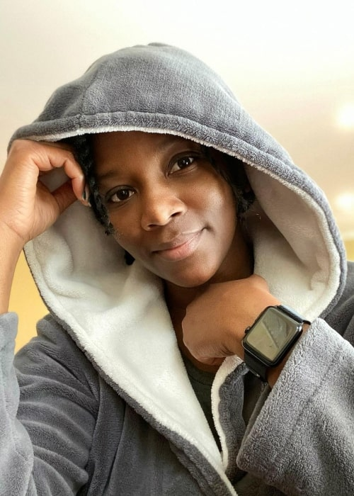 Genevieve Nnaji as seen in a picture that was taken in May 2020