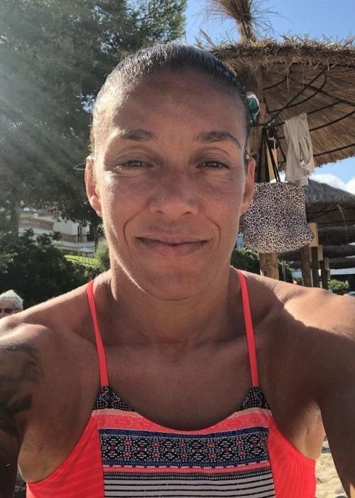 Germaine de Randamie as seen in an Instagram Post in September 2019
