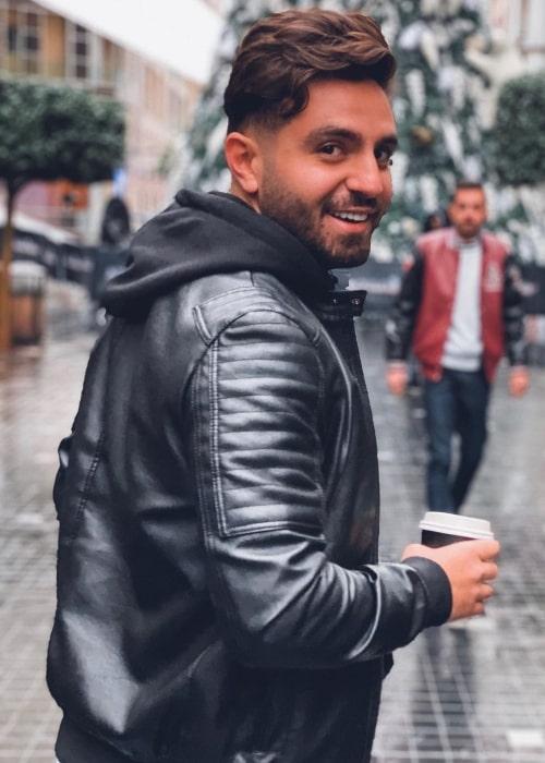 Ghaith Marwan as seen in a picture that was taken in Amman, Jordan in December 2019