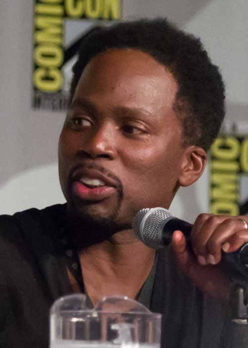 Harold Perrineau as seen at the 2014 Comic Con presentation for the TV show 'Constantine'