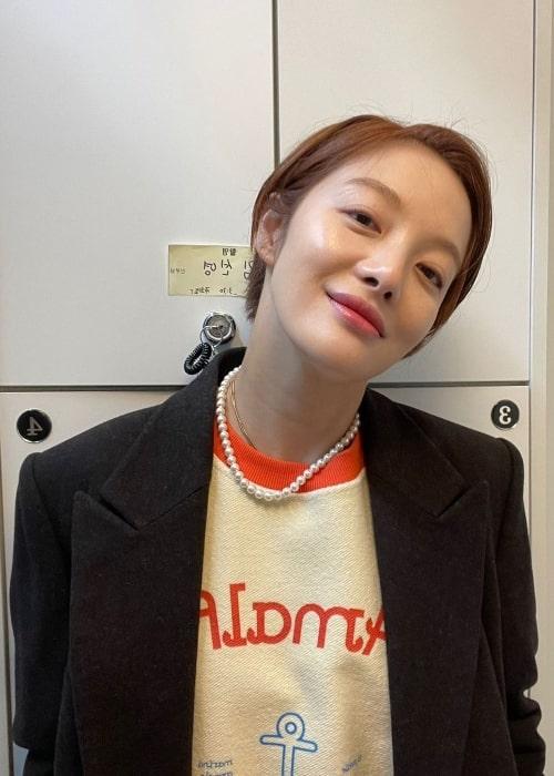 Hwang Bo-ra in August 2021