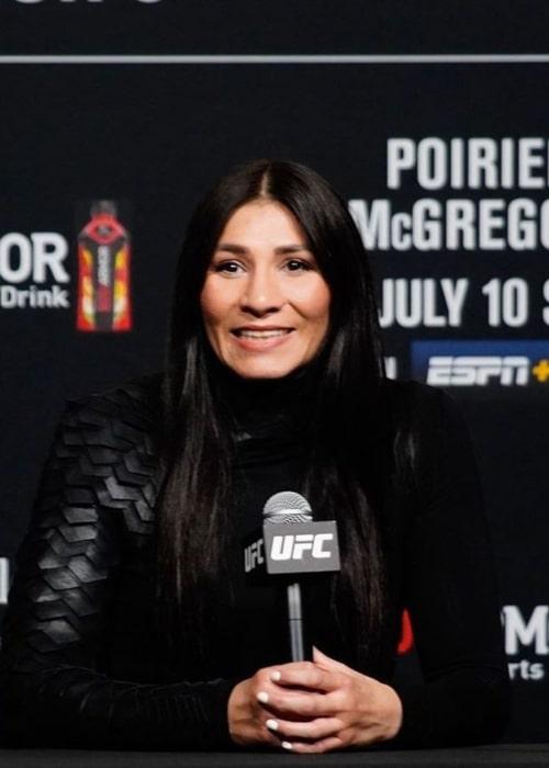 Irene Aldana as seen in an Instagram Post in July 2021