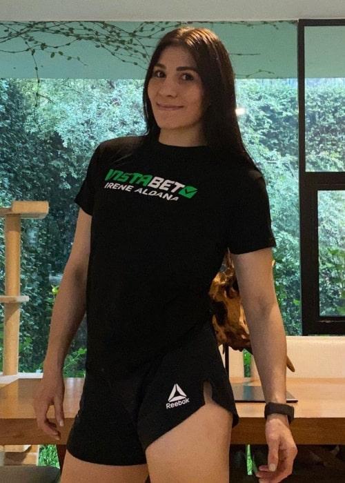 Irene Aldana as seen in an Instagram Post in May 2021