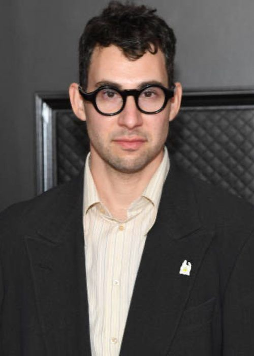 Jack Antonoff as seen at the Grammy Awards in 2021