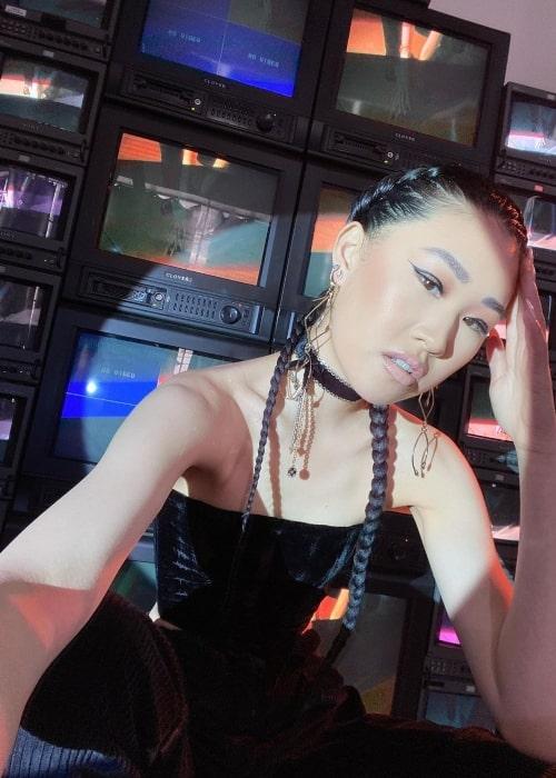 Jaime Xie as seen in a selfie taken in Los Angeles, California in March 2021