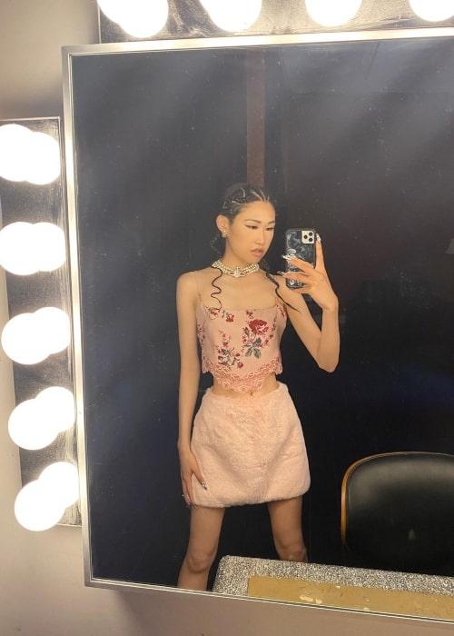Jaime Xie as seen in selfie that was taken in August 2021