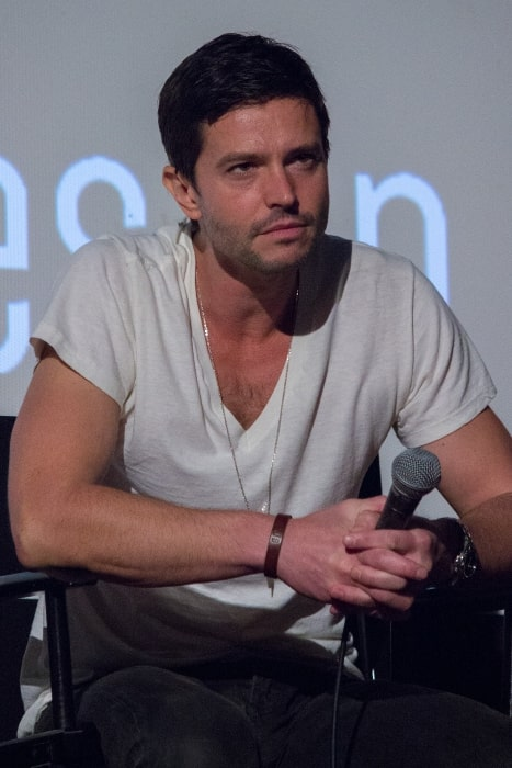 Jason Behr as seen at the ATX TV Festival 2014 for the TV show 'Roswell'