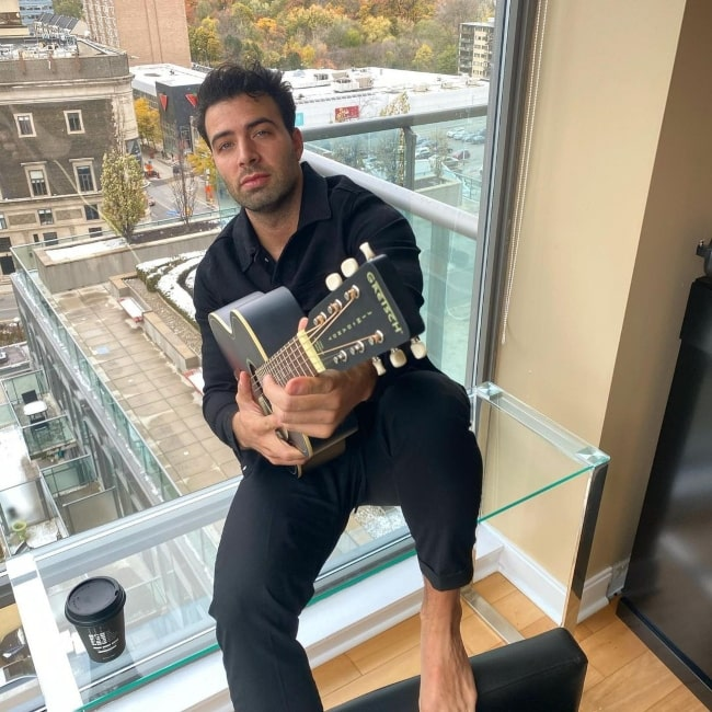 Jencarlos Canela as seen in a picture that was taken in Toronto, Ontario in November 2020